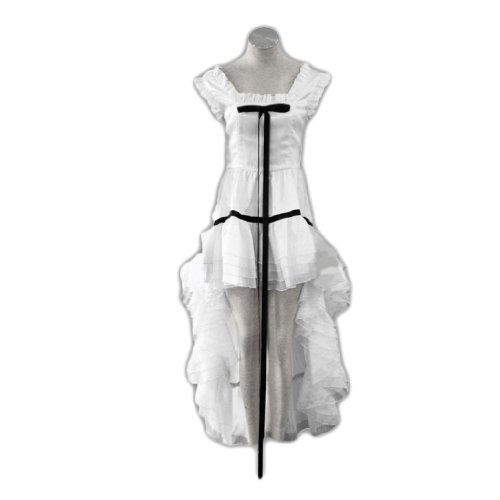 Chobit Kostüm - Dream2Reality japanische Anime Chobits Cosplay Kostuem - Chii White Dress 2nd Ver Kid Size Large