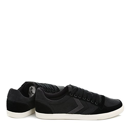 hummel Hummel Slim Stadil Mix Low, Baskets mode mixte adulte Noir Mix