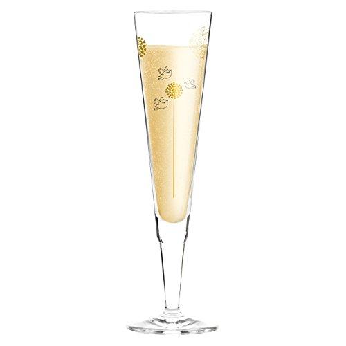 Ritzenhoff 1070233 Champus Champagnerglas, 7 x 7 x 24 cm, mehrfarbig