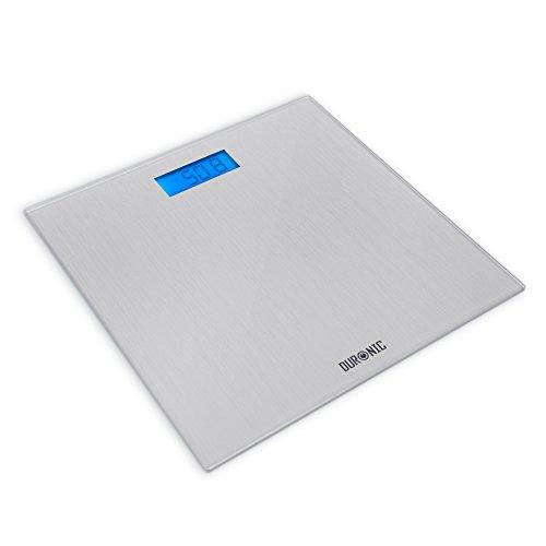 Duronic BS201 Digitalwaage bis zu 180kg - dünner Glasboden, Badezimmer Maßstab