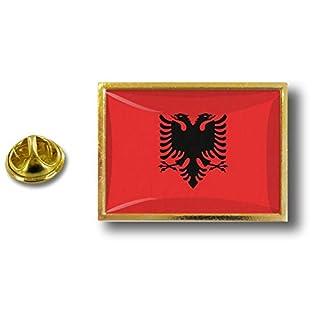 Akacha pin flaggenpin Flaggen Button pins anstecker Anstecknadel sammler albanien
