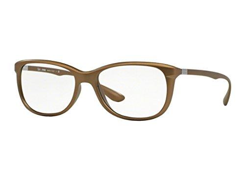Ray Ban Optical Für Frau Rx7024 Matte Brown Kunststoffgestell Brillen, 56mm
