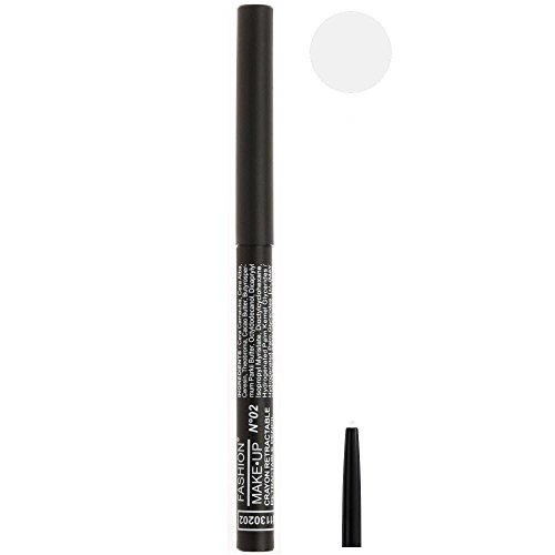 Crayon Yeux Rétractable Blanc FASHION MAKE UP