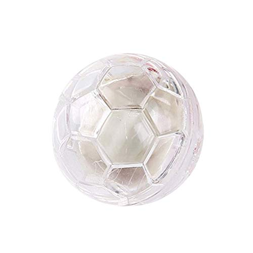TEN-G Dog Cat Flashing Ball Toy,Pet Light Up Interactive Ball with Led Lights and Musical Toy (Random Color) -