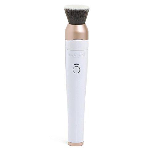 Magnitone London BlendUp Brosse Pinceau Estompeur de Maquillage Vibra-Sonic Sans Fil Rechargeable - Blanc/Rose Doré