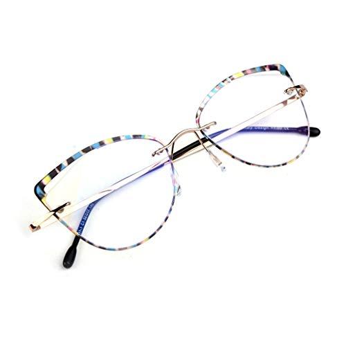 Axclg Reading glasses Geschenk für ältere Menschen - Lupe Anti-Blaue Lesebrille, Anti-Ermüdungs-Anti-Strahlungs-Harz ultraleichte hochauflösende Lesebrille für Männer und Frauen