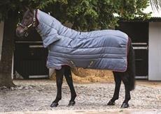 HORSEWARE Amigo all in one isolante stalla pesante 350g, Grey/Purple & Yellow