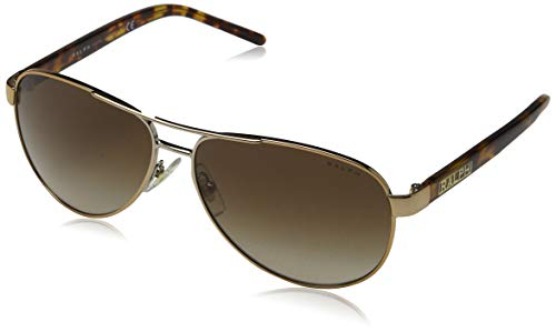 Ralph Lauren Purple Label Damen RA4004 104/13 Sonnenbrille, Gold (Brown Tortoise), One size (Herstellergröße: 59)