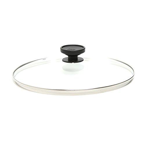 Coperchio alluflon in vetro temperato da 30 cm