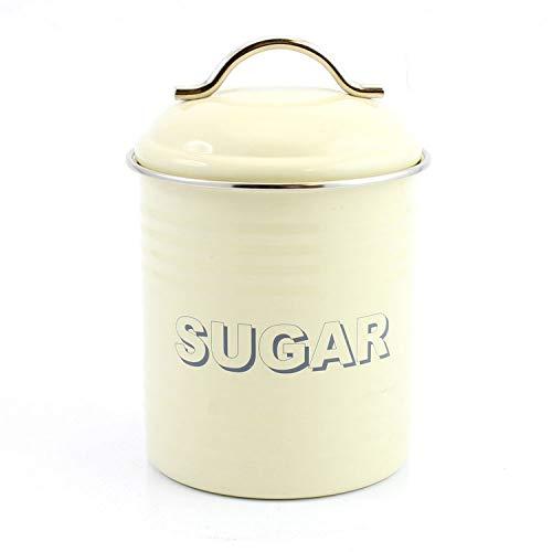 La cuisine de haute qualité, comté de cuisine rétro Boîte à sucre Crème