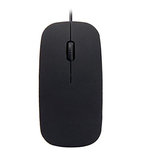 yjm Mini Tragbar USB Wired optische Gaming-Mäuse Mäuse für PC Laptop Home Office schwarz schwarz (Teppich 1200,)
