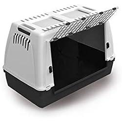 MPBergamo - Portador de perros Bracco 80, gris