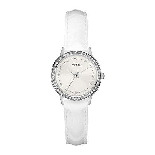 Guess orologio analogico quarzo donna con cinturino in pelle w0648l5