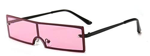 NNGETUI Flat Top Vintage Schwarze Sonnenbrille Klar Rosa Rot Blau Objektiv Weibliche Sonnenbrille Designer Brand Luxury Celebrity Shades Für Frauen