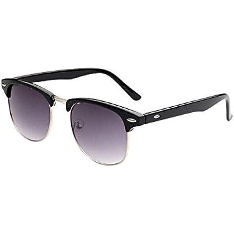 Fortan diseño unisex de la vendimia enormes gafas de sol