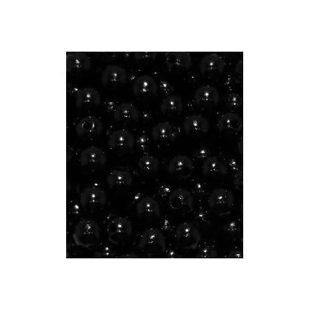 50 Holzperlen 10mm schwarz speichelfest & schweißecht Made in Germany