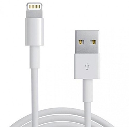 Générique 1M Sync and Charger USB Data Cable for iPhone 7/6 Plus / 5S / 5 and IPad