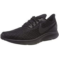 new style 9d47d ba736 Nike Air Zoom Pegasus 35, Zapatillas de Running para Hombre, Negro, 42 EU