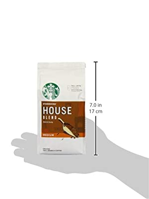 Starbucks House Blend Ground Coffee 200 g (Pack of 6)