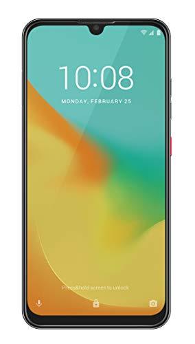 ZTE Smartphone Blade 10 VITA (16 cm (6,26 Zoll) HD+ Display, 4G LTE, 64 GB interner Speicher, 13 MP AI Dual-Kamera und 8 MP Frontkamera, Dual-SIM, Android 9) Schwarz