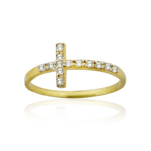 10k-yellow-gold-sideway-cross-ring-with-cz-by-styles-by-breezy