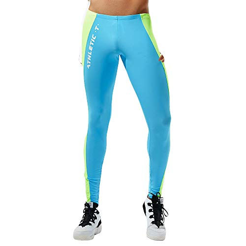Selou Herren unterhose einfarbige slim fit lang leggings kompression strumpfhose unterwäsche...