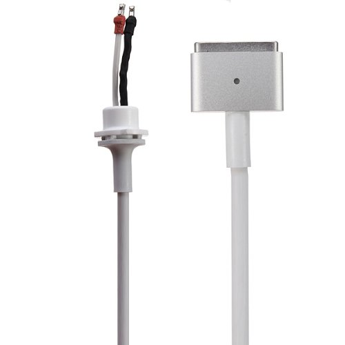 Fugen DC Cable Cord (T Shape) to Repair of Original Genuine Apple Magsafe 2 Adapter Charger for MacBook Air Pro Retina 45w 60w 85w