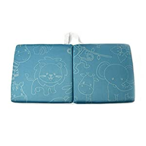 Astoria Homeware Bath Kneeling Pad & Elbow Rest. Soft Non-Slip Neoprene Cushioned Kneeler Mat to Protect Knees & Provide Comfort at Baby Bath Time. Easy Clean & Quick Dry. With Toy Net & Storage Bag