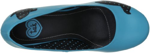 Pumps Sweet black Damen Jane turquoise Tuk Bleu qvW6AtwwR