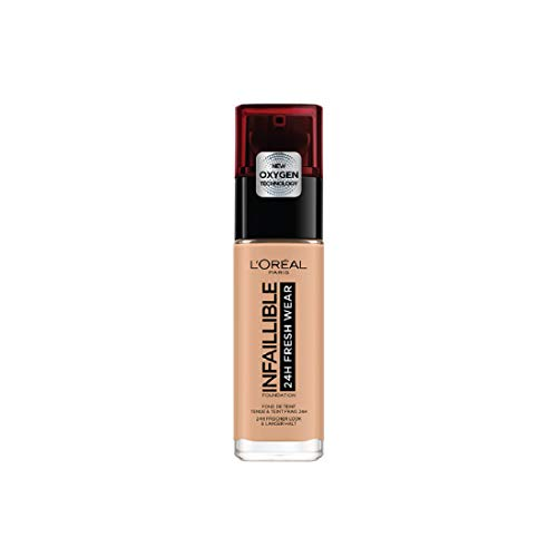 L'Oréal Paris24H Fresh Wear Base Maquillaje Larga