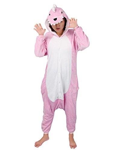 Tier Kostüme Lustige (Pyjamas Tier Kostüm Schlafanzug Jumpsuit Erwachsene Unisex Cosplay Halloween)