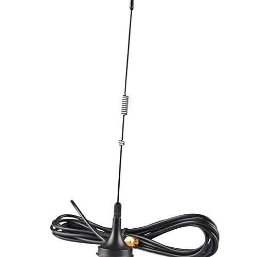 Luckiests UT-106UV SMA-Stecker Dual-Band-Auto-Magnetic Mobilfunk-Antenne kompatibel für Yaesu Baofeng Radios -