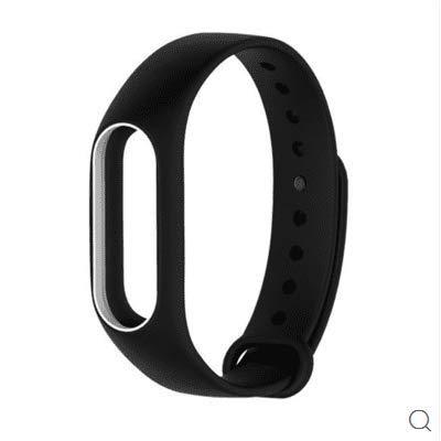 YEFOD Xiaomi Mi Band 2 Ersatzband, Silikon Ersatzarmband mit Klammer Clasp Ersatz Armband für Mi Band 2 Fitnessarmband