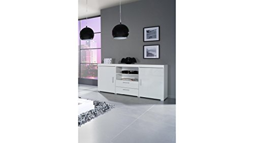 BMF COMMODE CHEST OF DRAWERS / SIDEBOARD / HIGH GLOSS - BLACK AND WHITE COLOUR COMBINATIONS
