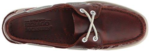 Sebago Docksides, Mocassini Donna Brown Oiled Waxy Leather