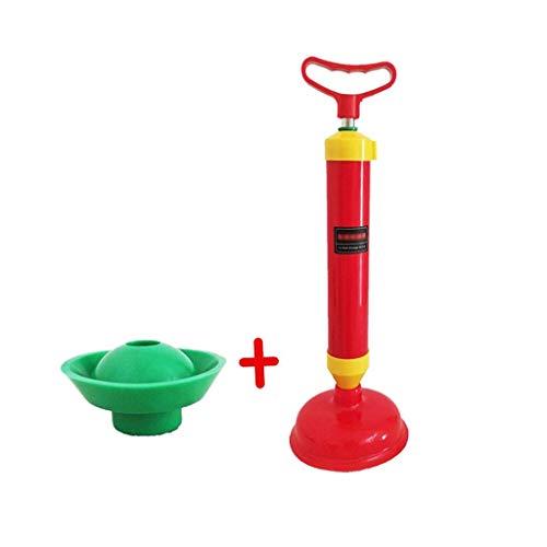 XuYuanJiaShop WC-Saugrohrbagger WC-Kolben mit 2 Saugnäpfen (Mit Wc-kolben Halter)