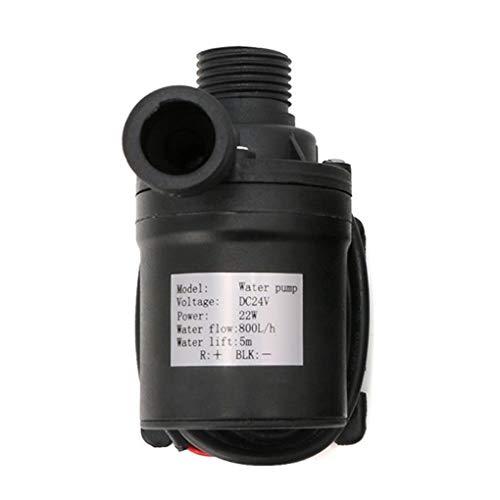 Bodbii 800L / H 5m DC 12V / 24V Sonnen Brushless Motor Wasserzirkulationswasserpumpe Submersibles Wasserpumpen