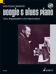 Boogie + Blues Piano - arrangiate per pianoforte - con CD [Note musicali/holzweißig] compositore: wierzyk Wolfgang