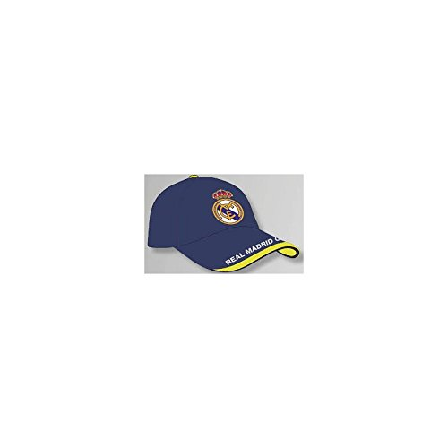GORRA OFICIAL – REAL MADRID – AZUL ADULTO COTTON LIKE
