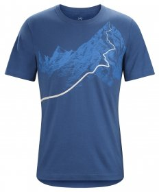 Arc'teryx Mens afterglo HW SS T-shirt - multicolore - XX-Large