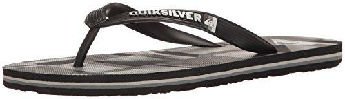 Quiksilver , Sandales pour homme Noir/gris/noir
