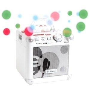 Aucune - I-DANCE PARTY Enceinte Tout en Un Cube BC10 Blanc