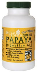 Royal Tropics, The Original Green Papaya, Digestive Aid, 5.0 oz (141.7 g) from Royal Tropics