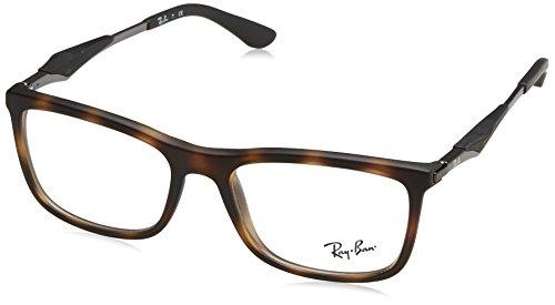 44dce87412 RAYBAN 0RX 7029 5200 53 Monturas de gafas, Matte Havana, Hombre