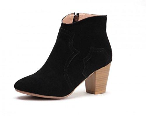 SONGYUNYAN Westlichen Leder Nubuk-Leder Büro Damenmode Schuhe 3