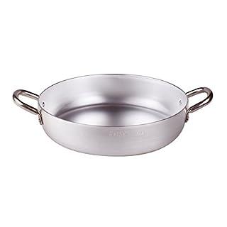 Pentole Agnelli Aluminium Inbox Omelette Pan With 2 Handles, Diameter 40 Cm.
