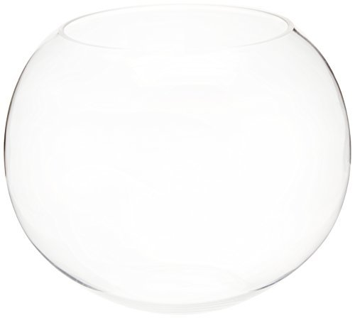 Bubble Bowl - Large Size. Hand Blown Glass, Not Machine Made (pc) by Modern Vase & Gift Hand Blown Bubble