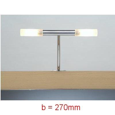 RIMINI-370 Spiegelleuchte Spiegellampe inkl. 2x 12V 20W Leuchtmittel