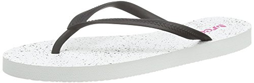 Reef Womens Flip Flops Thongs (Reef Damen Chakras Prints Flip-Flop, Weiß (White Splatter), 40 EU)