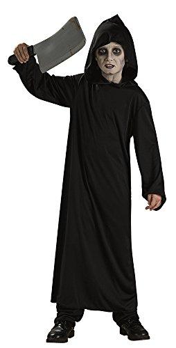 Imagen de haunted house  disfraz infantil de monje del infierno, talla l, color negro rubie's spain 881913 l